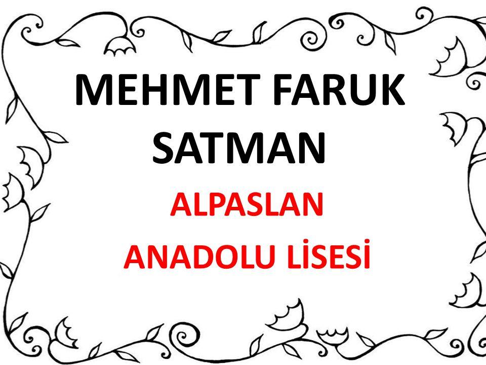 ALPASLAN ANADOLU LİSESİ