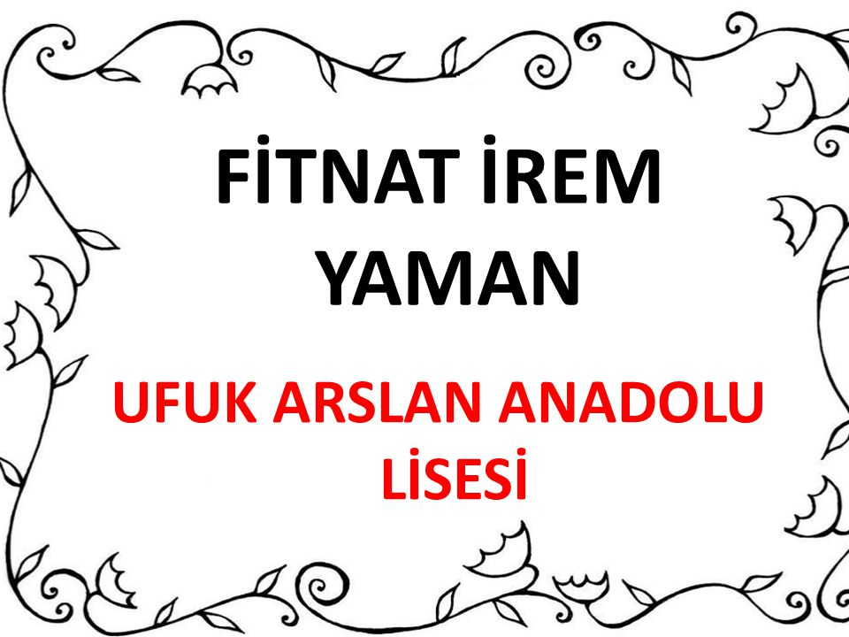 UFUK ARSLAN ANADOLU LİSESİ