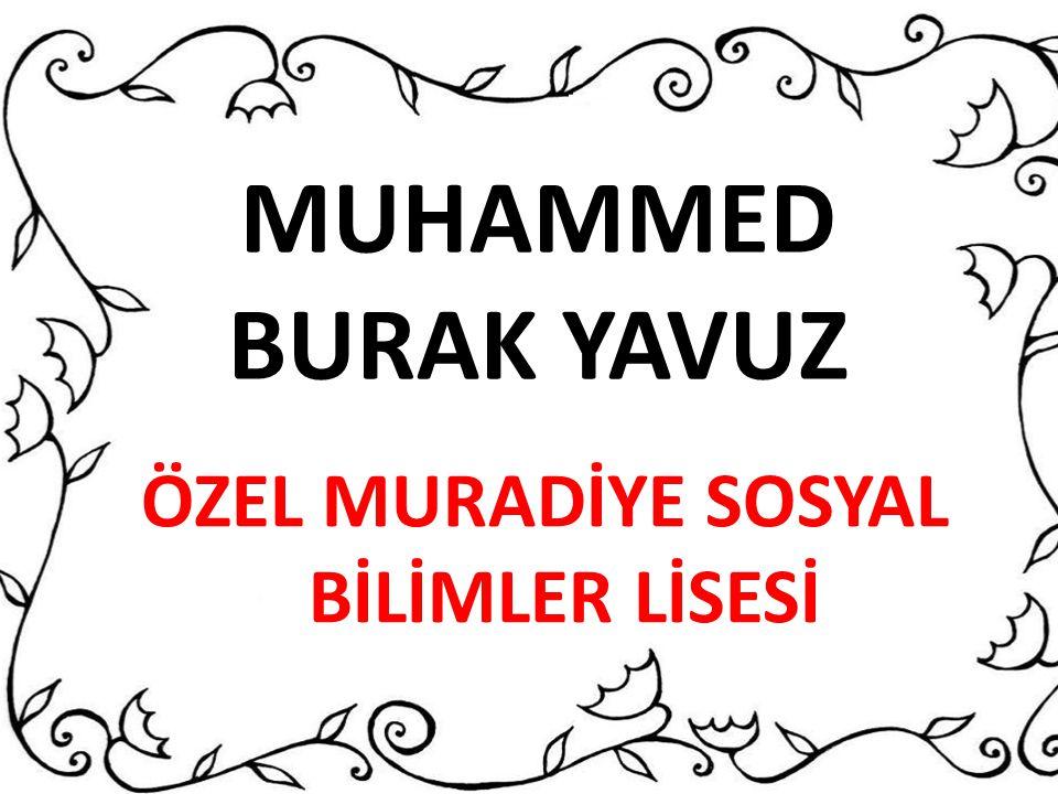 ÖZEL MURADİYE SOSYAL BİLİMLER LİSESİ