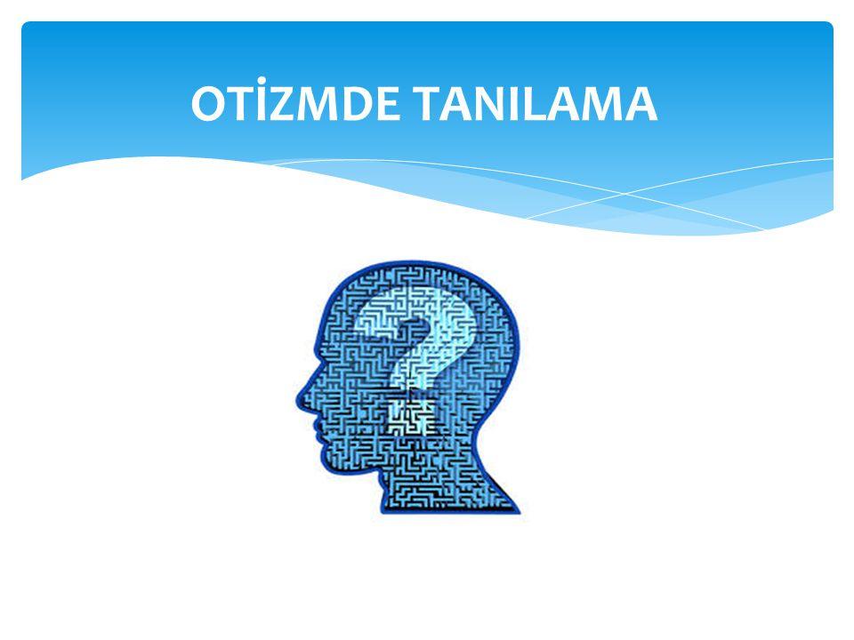 OTİZMDE TANILAMA