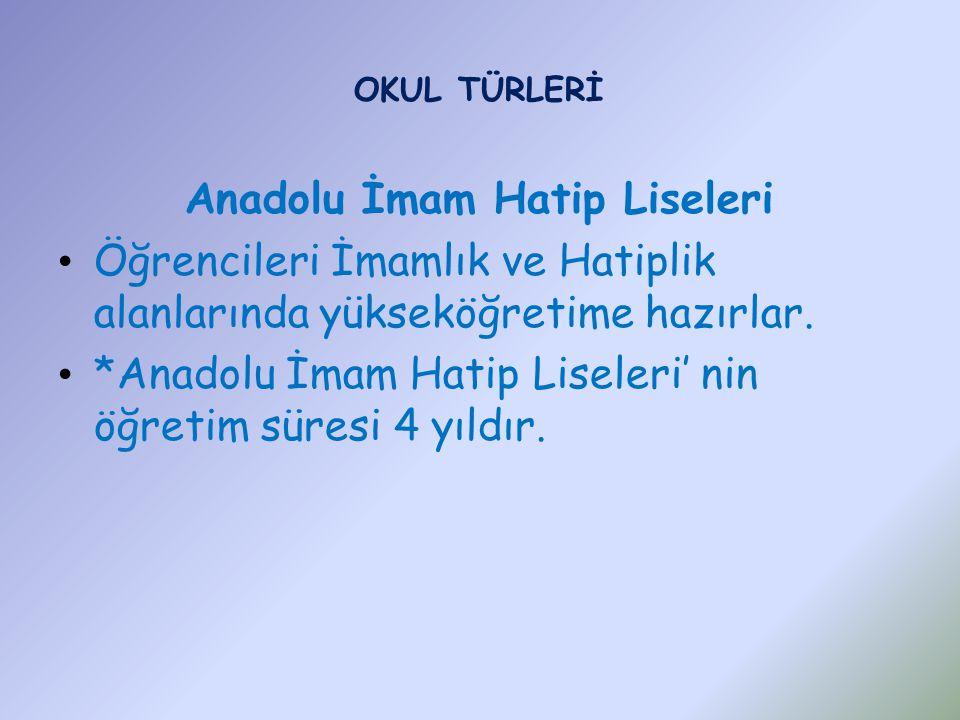 Anadolu İmam Hatip Liseleri