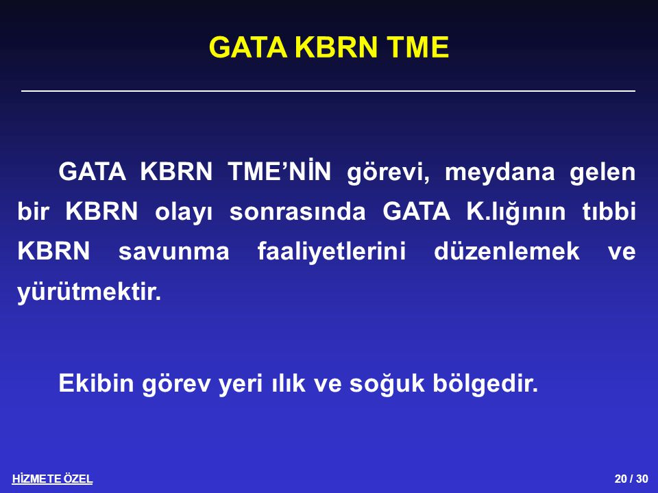 GATA KBRN TME