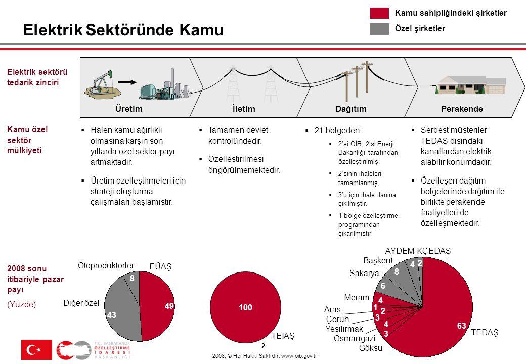İçerik Genel Olarak Elektrik Sektöründe Özelleştirme