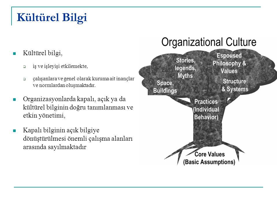 Kültürel Bilgi Kültürel bilgi,