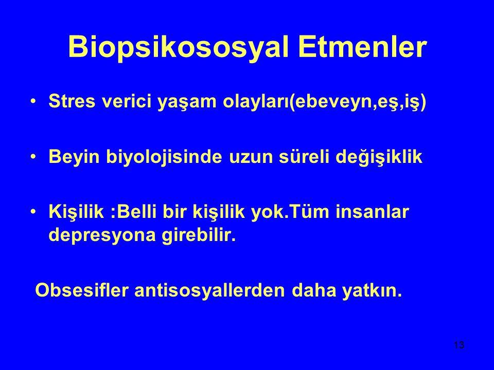 Biopsikososyal Etmenler