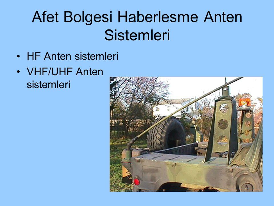 Afet Bolgesi Haberlesme Anten Sistemleri