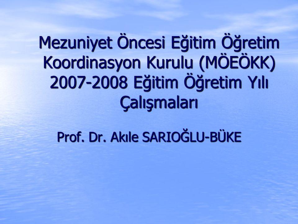 Prof. Dr. Akıle SARIOĞLU-BÜKE