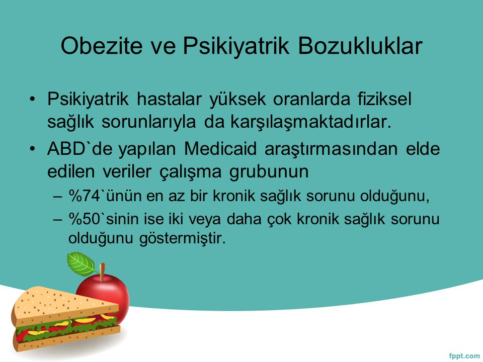 Obezite ve Psikiyatrik Bozukluklar