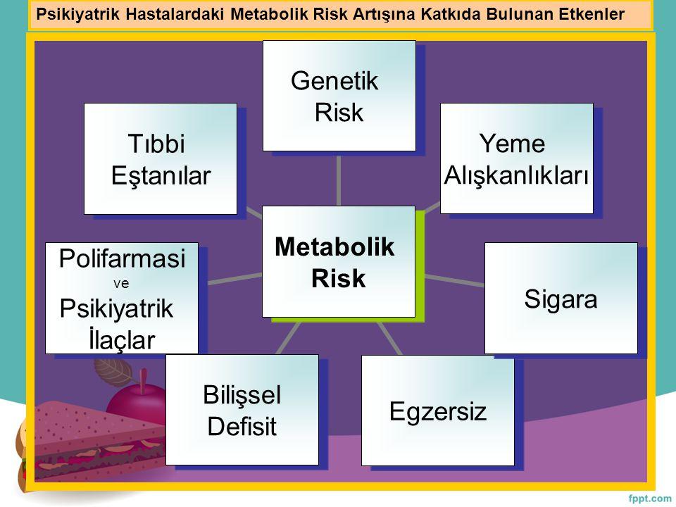 Psikiyatrik Hastalardaki Metabolik Risk Artışına Katkıda Bulunan Etkenler