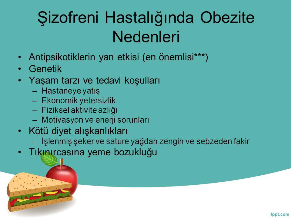 Şizofreni Hastalığında Obezite Nedenleri