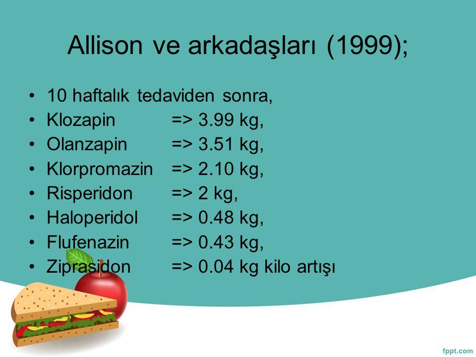 Allison ve arkadaşları (1999);