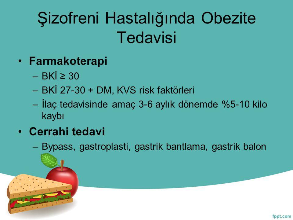 Şizofreni Hastalığında Obezite Tedavisi