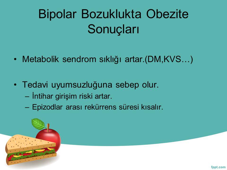 Bipolar Bozuklukta Obezite Sonuçları