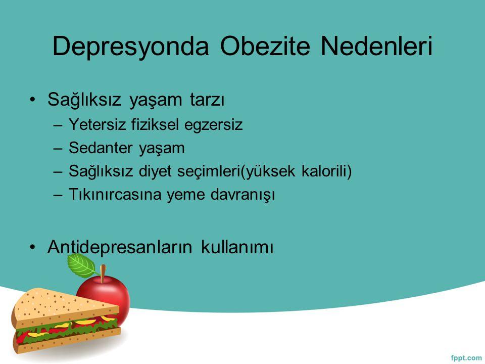 Depresyonda Obezite Nedenleri
