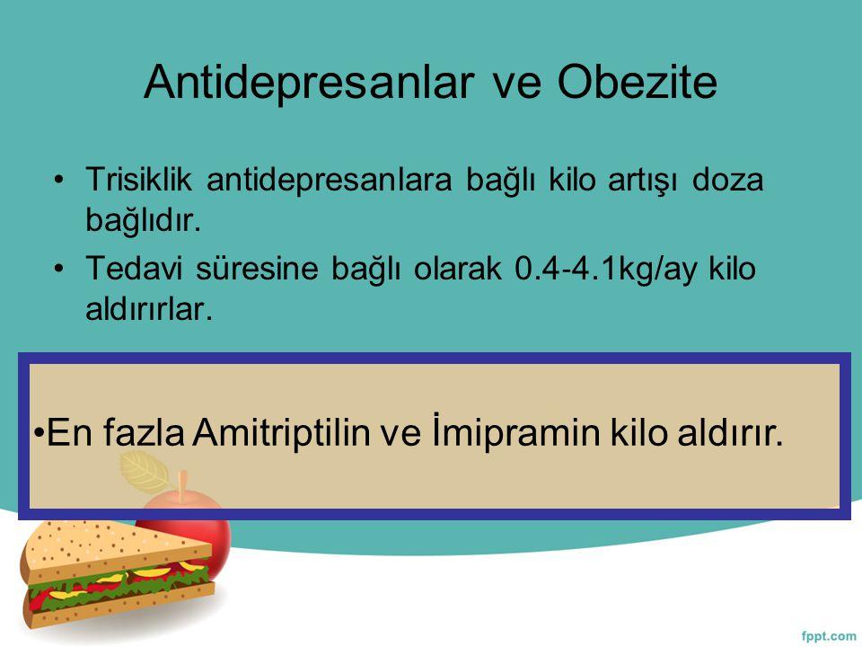 Antidepresanlar ve Obezite