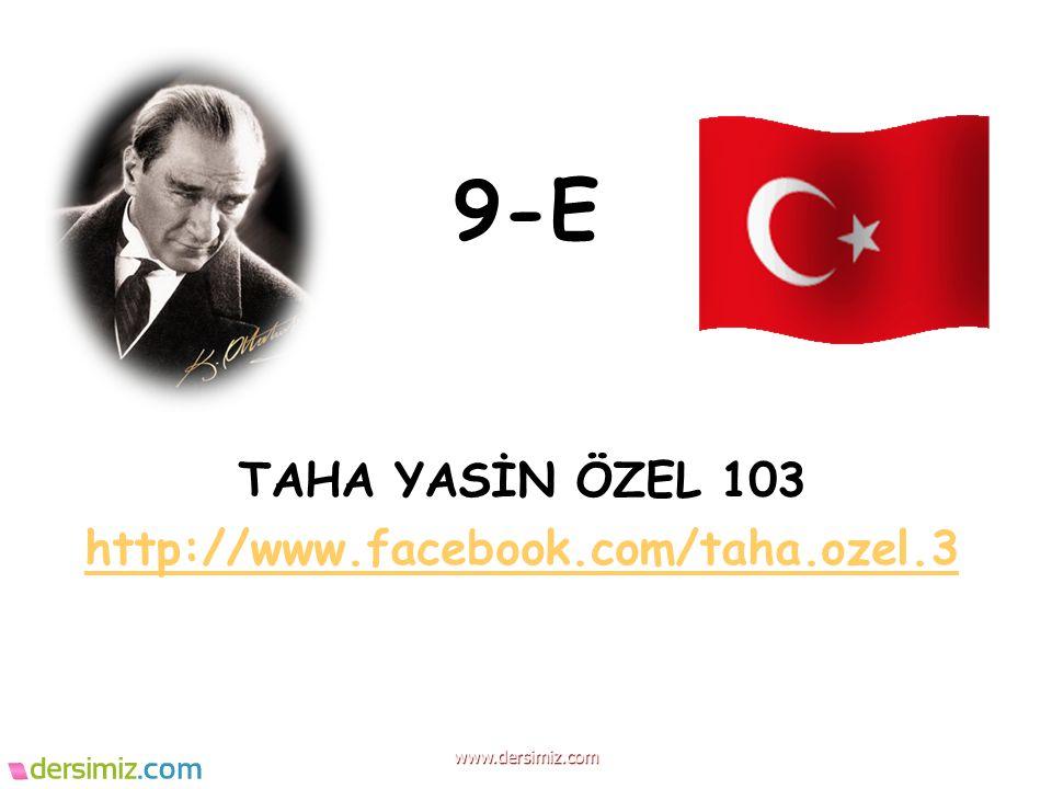 TAHA YASİN ÖZEL 103 http://www.facebook.com/taha.ozel.3