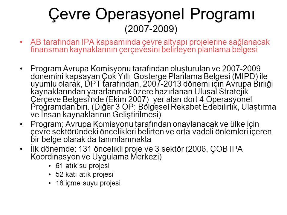 Çevre Operasyonel Programı (2007-2009)
