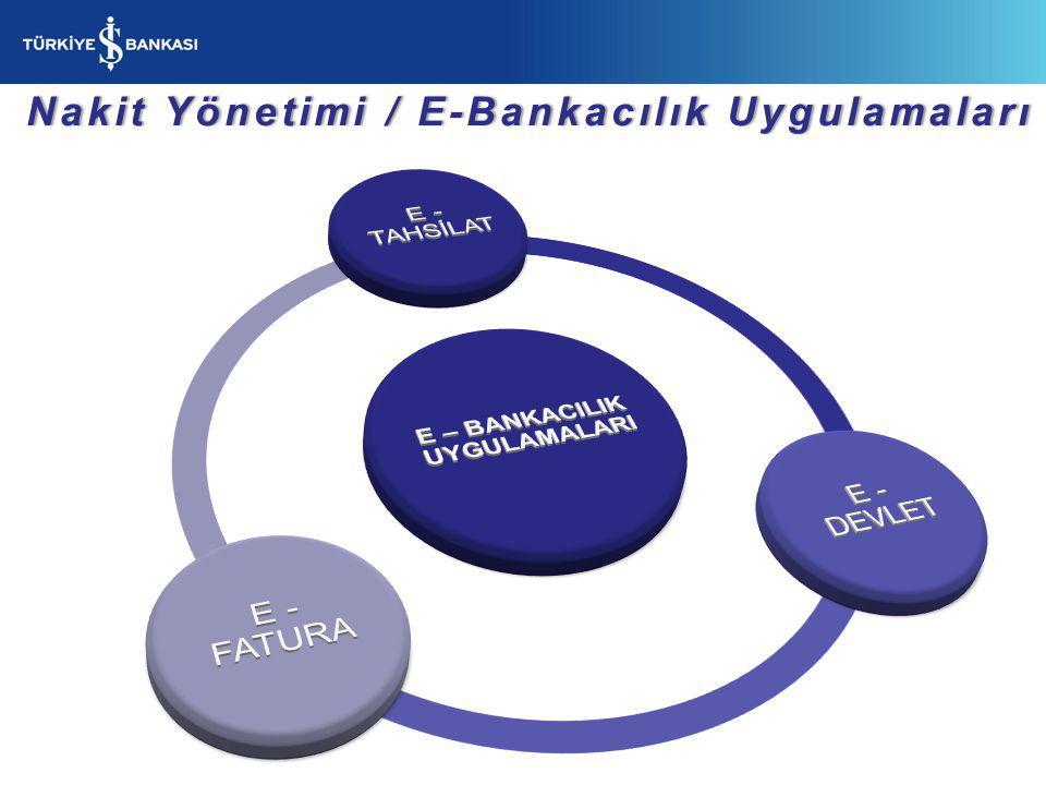 Nakit Yönetimi / E-Bankacılık Uygulamaları