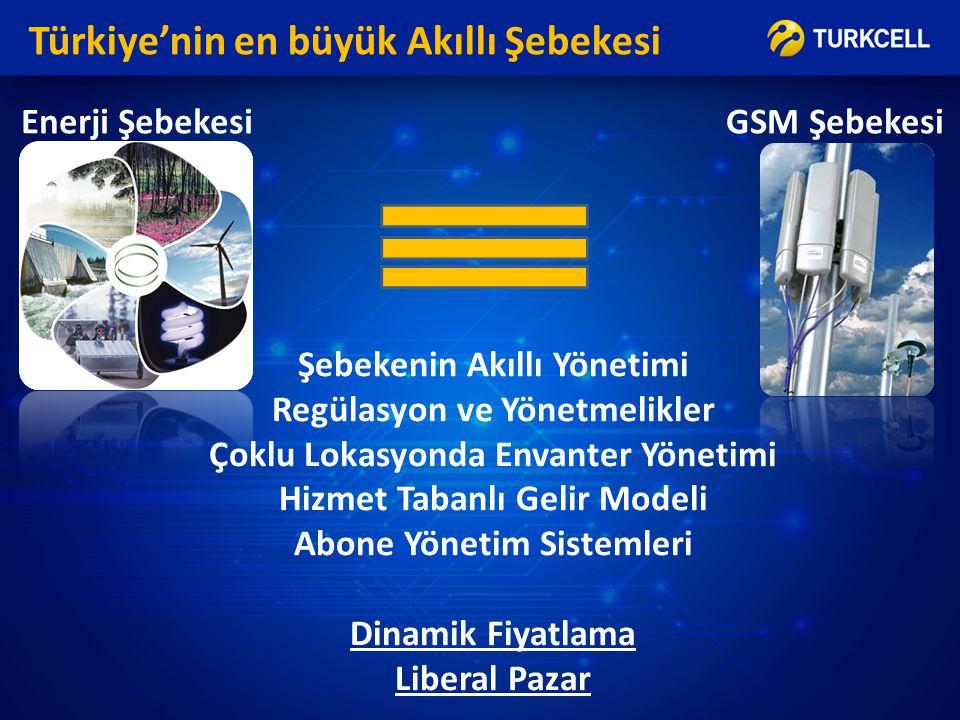 Türkiye'nin en büyük Akıllı Şebekesi
