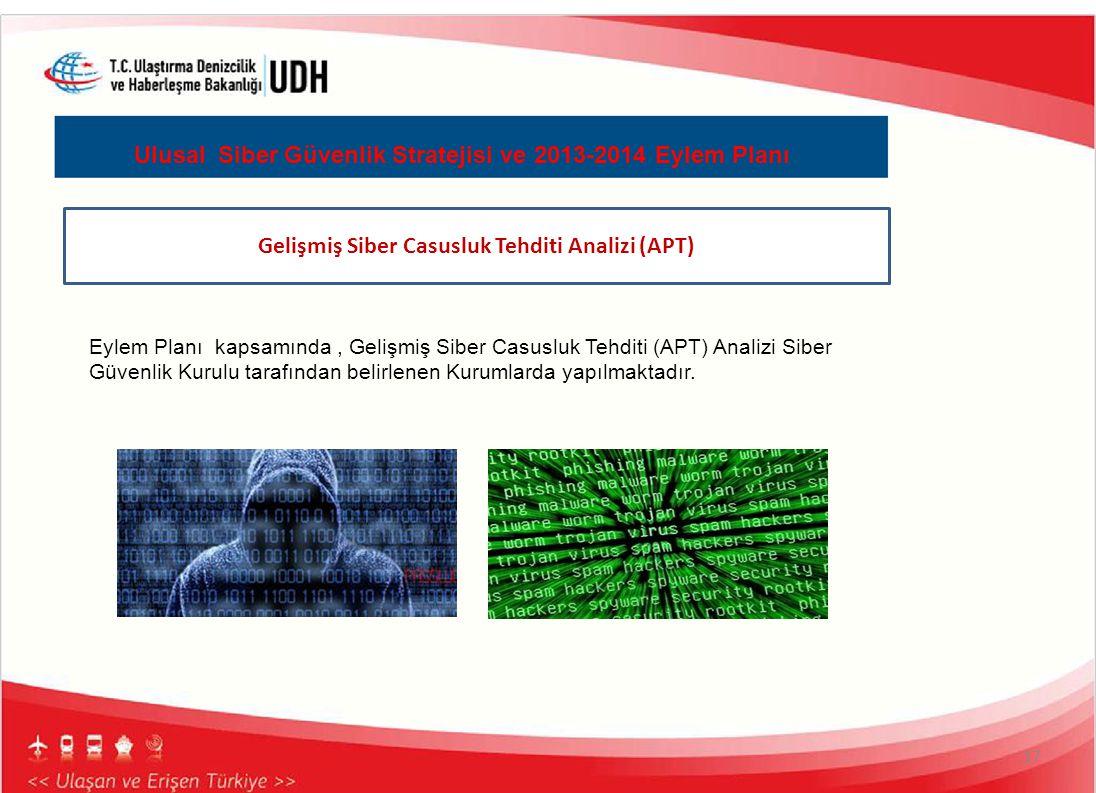 Gelişmiş Siber Casusluk Tehditi Analizi (APT)