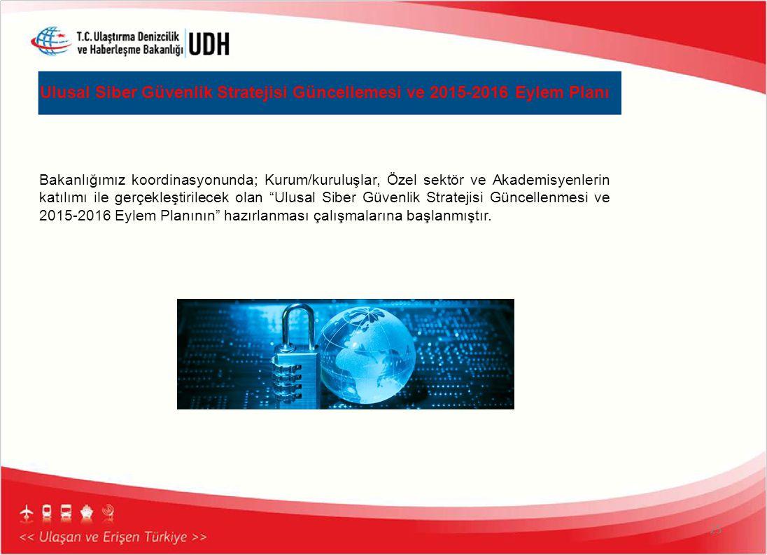 Ulusal Siber Güvenlik Stratejisi Güncellemesi ve 2015-2016 Eylem Planı