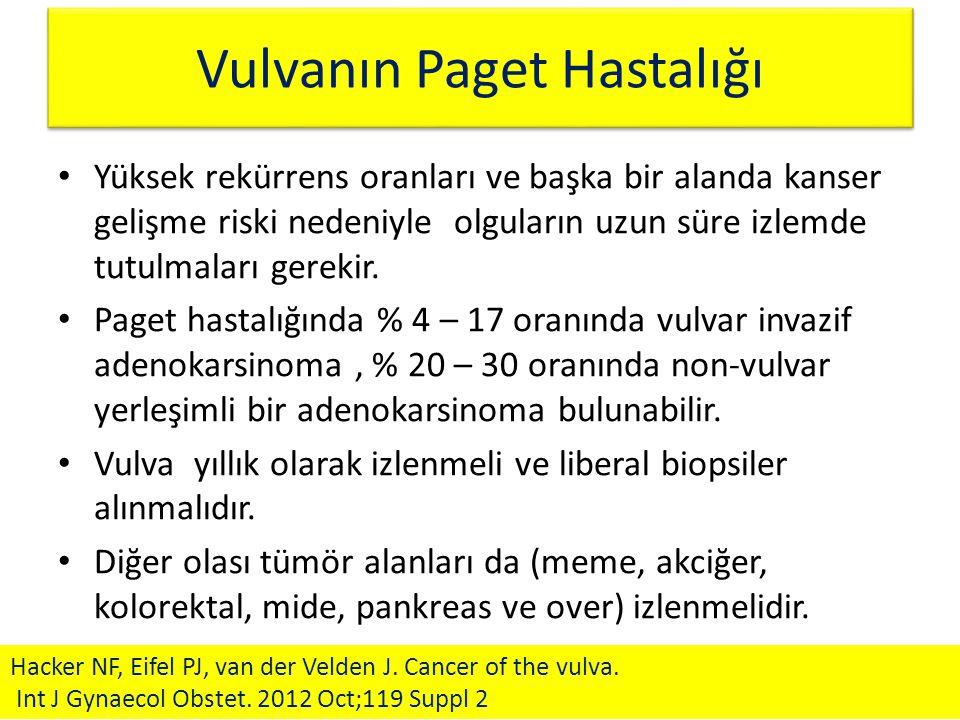 Vulvanın Paget Hastalığı