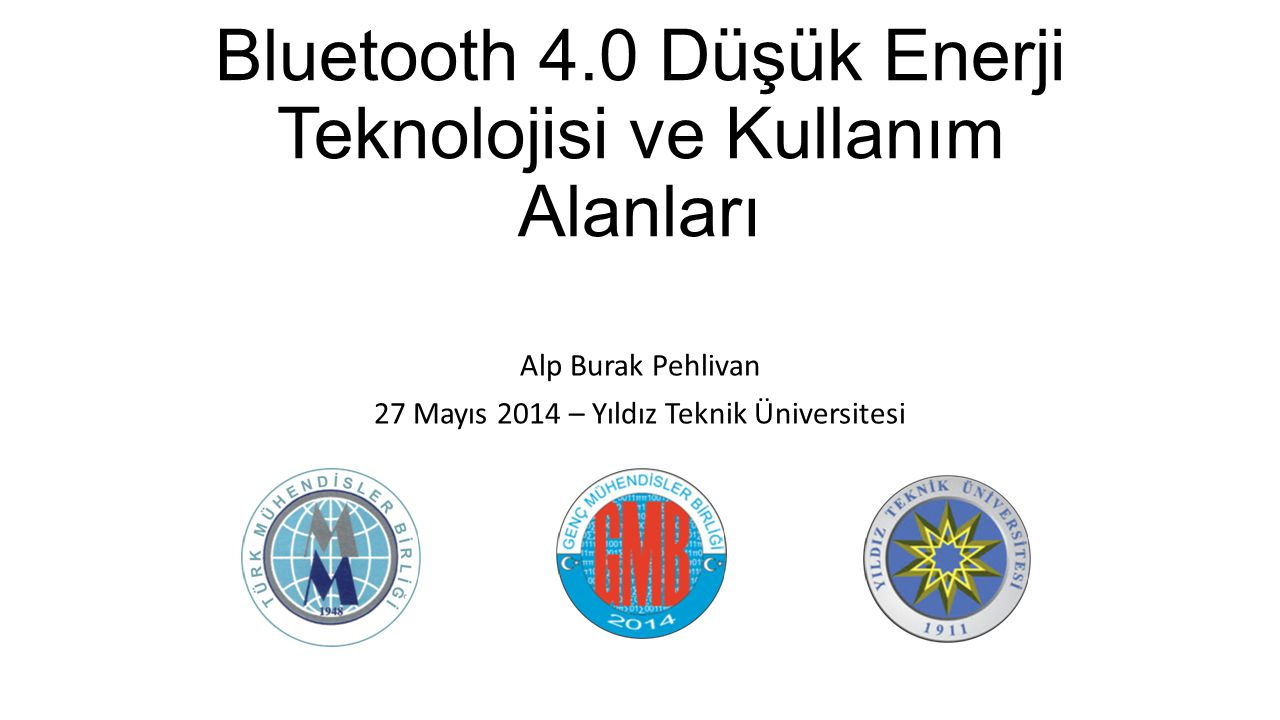 Bluetooth 4.0 Düşük Enerji Teknolojisi ve Kullanım Alanları