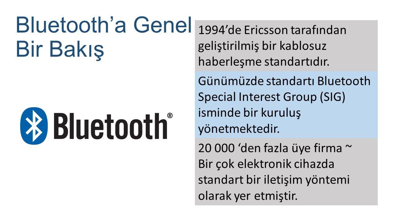 Bluetooth'a Genel Bir Bakış