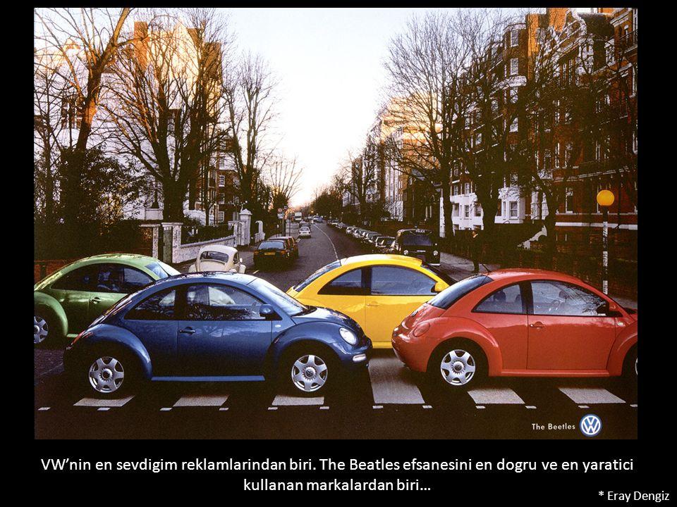 VW'nin en sevdigim reklamlarindan biri