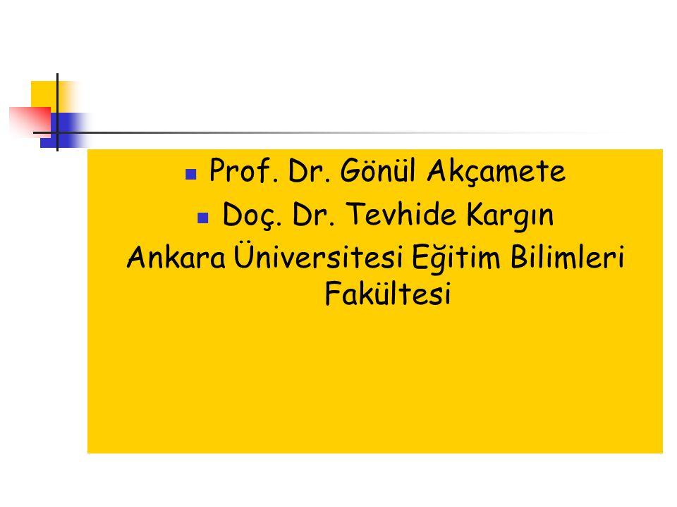 Ankara Üniversitesi Eğitim Bilimleri Fakültesi