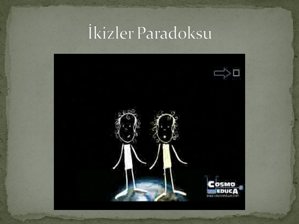 İkizler Paradoksu