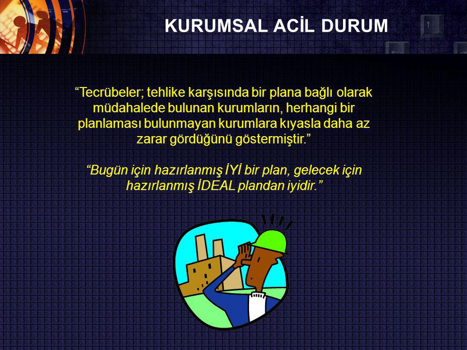 KURUMSAL ACİL DURUM