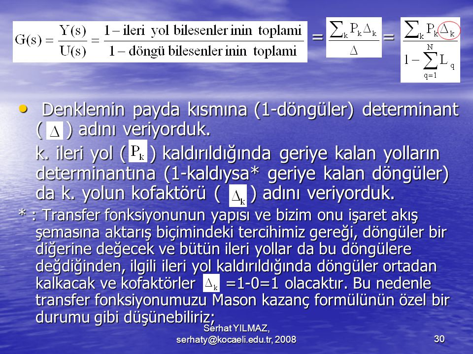 Serhat YILMAZ, serhaty@kocaeli.edu.tr, 2008