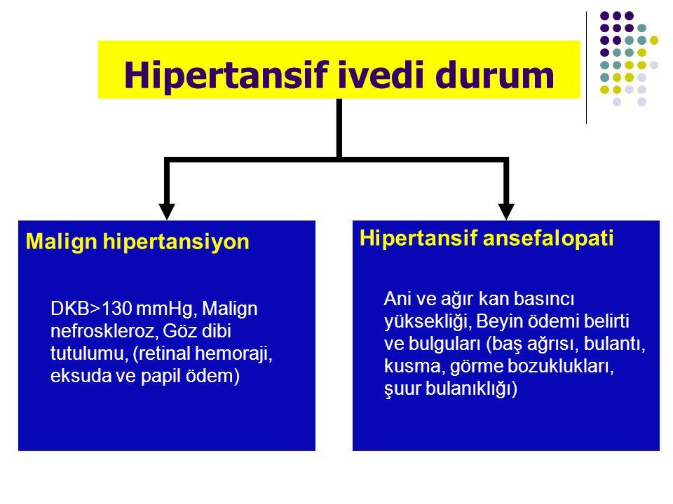 Hipertansif ivedi durum