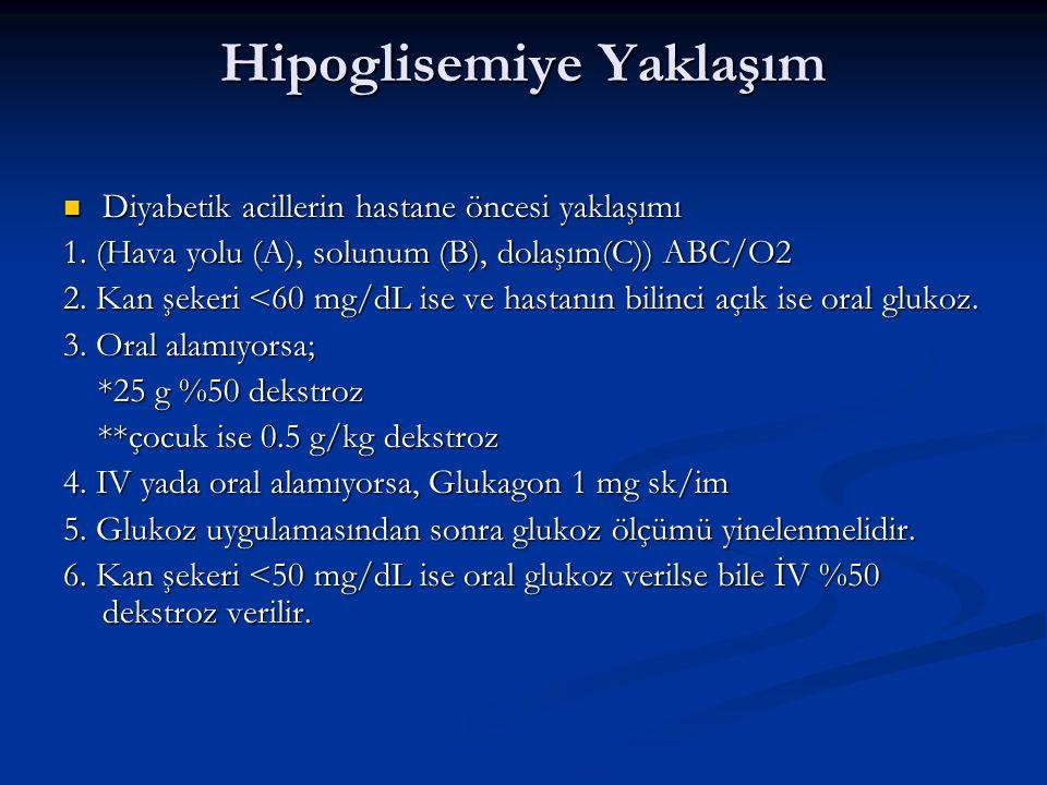 Hipoglisemiye Yaklaşım