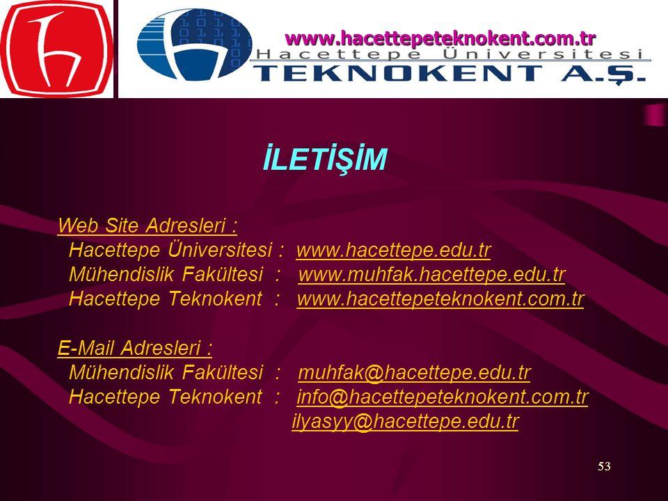 Hacettepe Üniversitesi : www.hacettepe.edu.tr