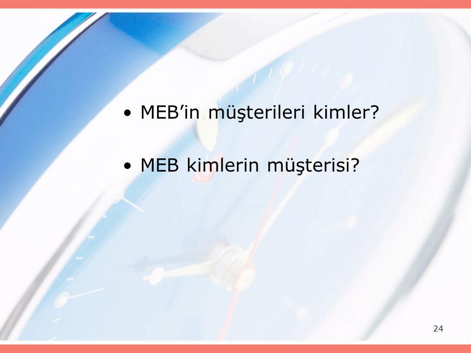 MEB'in müşterileri kimler MEB kimlerin müşterisi