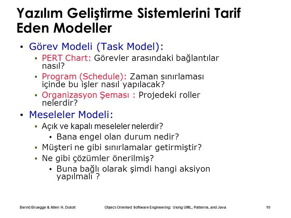 Yazılım Geliştirme Sistemlerini Tarif Eden Modeller
