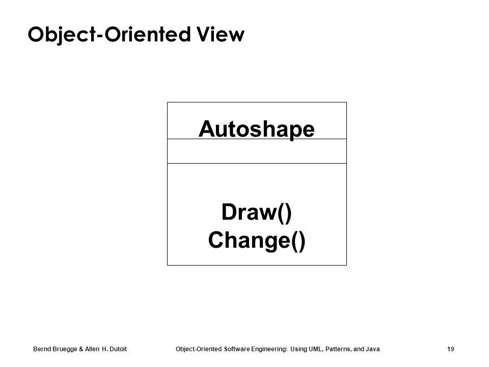 Autoshape Draw() Change()