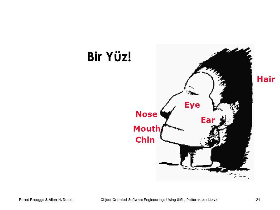 Bir Yüz! Hair Eye Nose Ear Mouth Chin