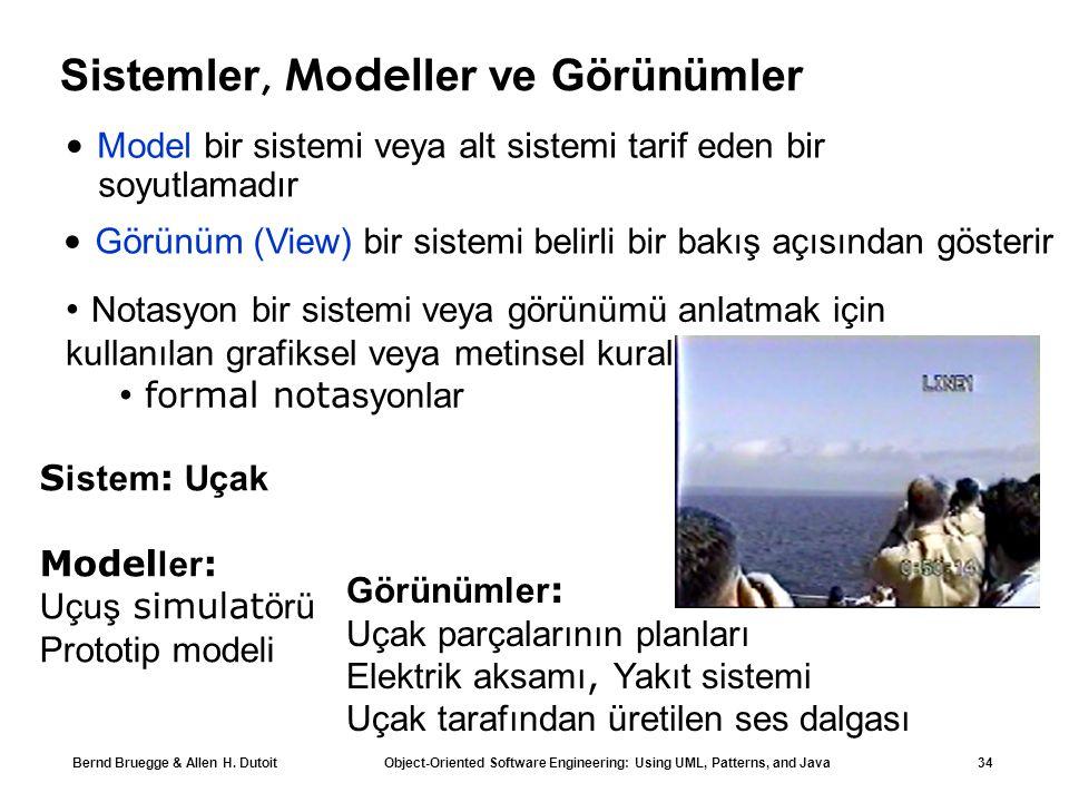 Sistemler, Modeller ve Görünümler