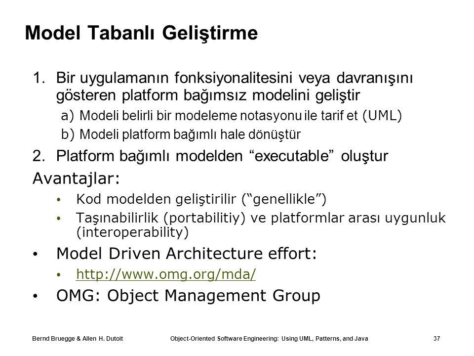 Model Tabanlı Geliştirme