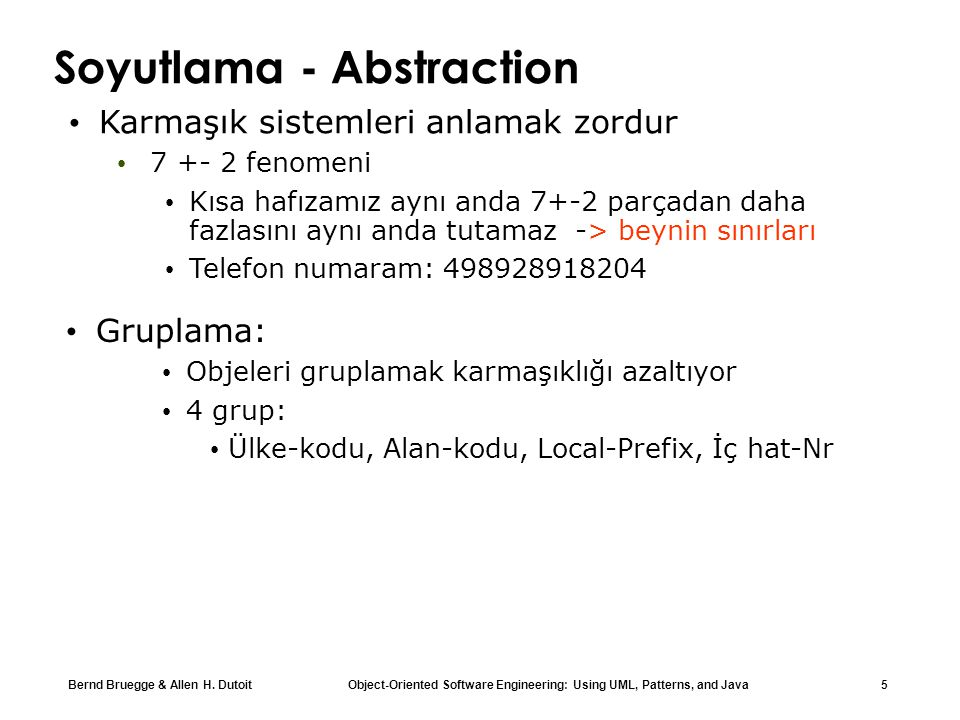 Soyutlama - Abstraction