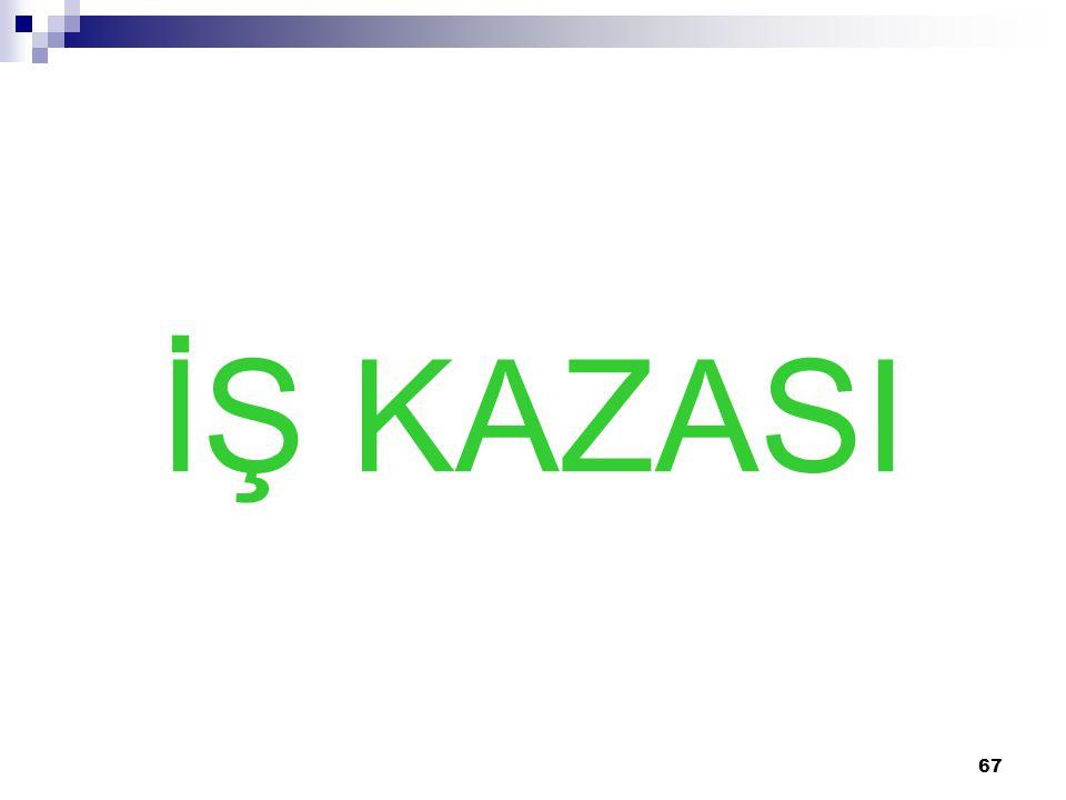 İŞ KAZASI