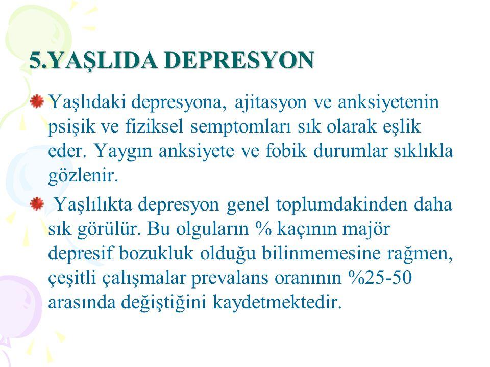 5.YAŞLIDA DEPRESYON