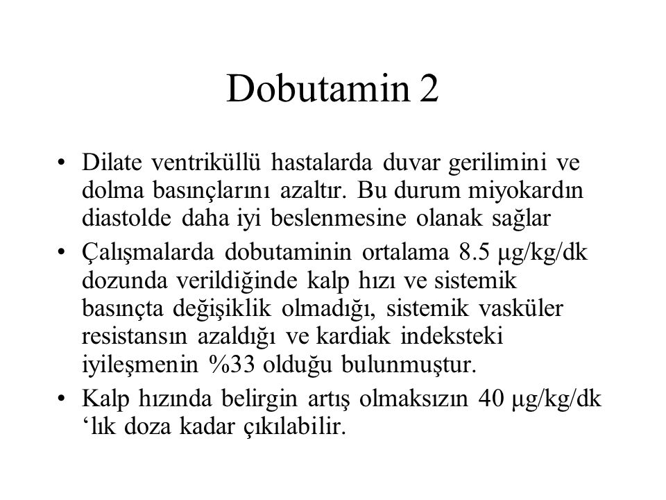 Dobutamin 2
