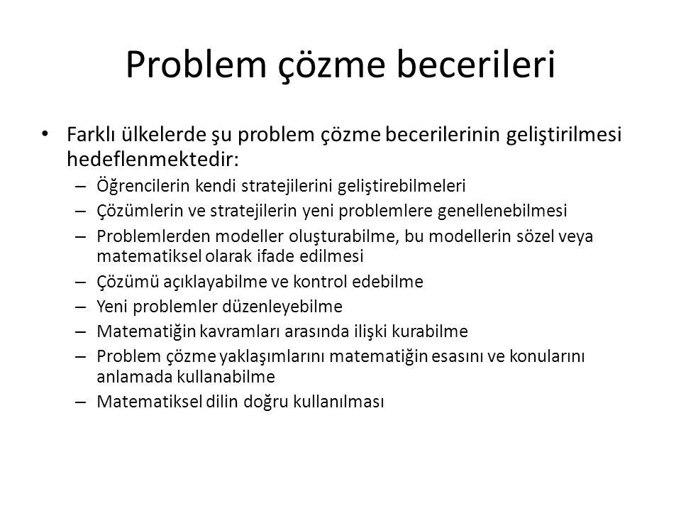 Problem çözme becerileri