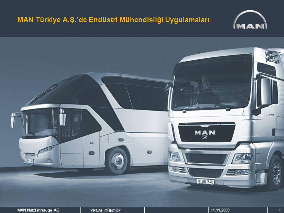 MAN Türkiye A.Ş.'de Endüstri Mühendisliği Uygulamaları