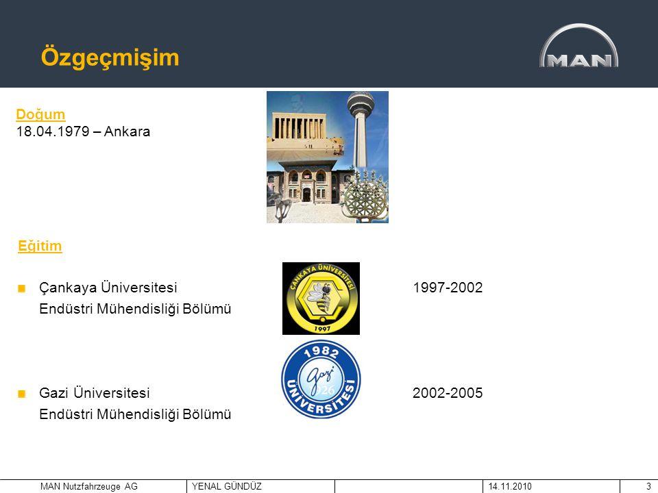 Özgeçmişim Doğum 18.04.1979 – Ankara Eğitim