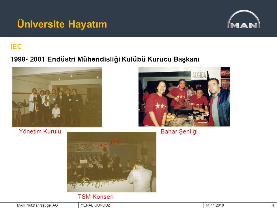 Üniversite Hayatım IEC